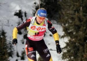 Биатлон: Нойнер выиграла спринт в Антхольце, четыре украинки финишировали в двадцатке