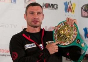 Виталия Кличко признали боксером года