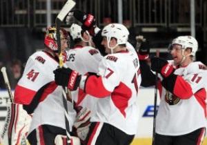 NHL: Сенаторы в гостях разобрались с Рейнджерами