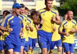 Сборная Украины перед Евро-2012 проведет тренировочные сборы в Турции и Австрии