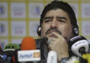 Марадона намерен пригласить в ОАЭ европейских футболистов