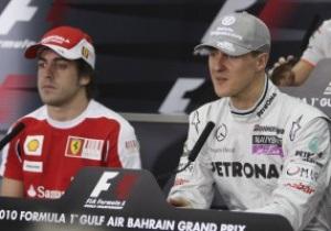 Алонсо: Шумахер никому не должен ничего доказывать