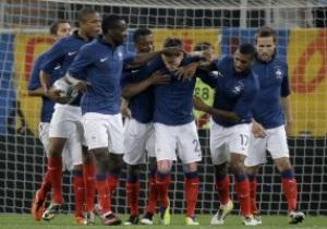 Сборная Франции перед Евро-2012 проведет четыре товарищеских матча