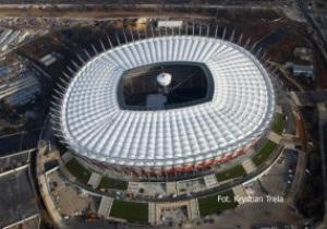 До Евро-2012 на стадионе в Варшаве проведут 5 матчей