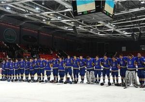 Молодежная сборная Украины по хоккею пробилась в Первый дивизион