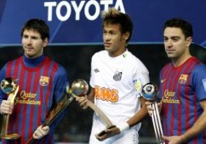 Месси награжден Золотым мячем клубного чемпионата мира