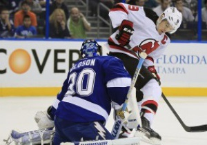 NHL: New Jersey Devils справились с Tampa Bay Lightning