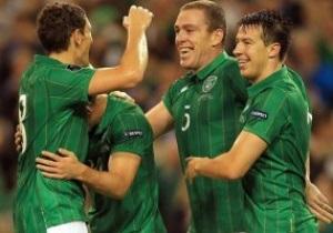 Сборная Ирландии разместится в Гдыне во время Евро-2012