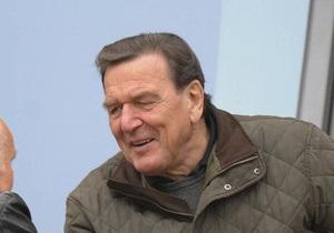 Экс-канцлер ФРГ Шредер покидает совет директоров компании ТНК-BP