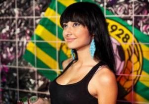 Конкурс Мисс Премьер-лига выиграла болельщица Кубани