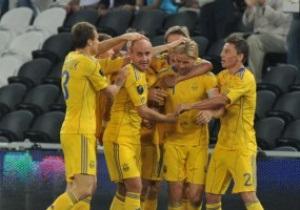 Математические расчеты прочат Украине выход из группы на Евро-2012