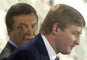 Янукович открыл в Енакиево доменную печь и поблагодарил Ахметова за  достаточное количество денег