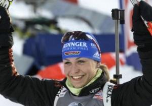 Известная немецкая биатлонистка планирует завершить карьеру