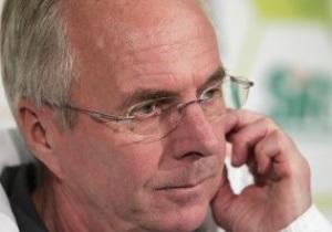 Эрикссон: Не исключаю победу сборной Англии на Евро-2012