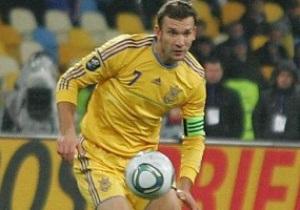 Шевченко: Выйти на матч Евро под мелодию гимна Украины - это будет что-то особенное
