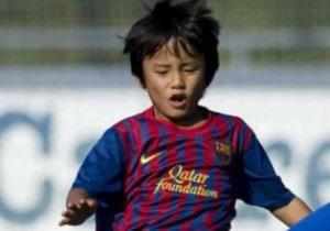 Барселона подписала 10-летнего японца