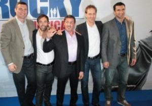 Виталий Кличко: Сталлоне сравнил мой бой с Льюисом с фильмом Рокки