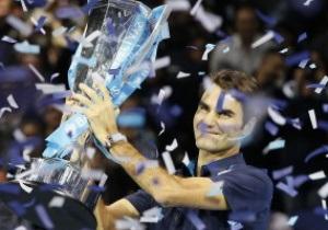 Федерер стал победителем на Итоговом турнире АТР