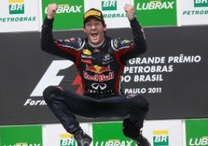 Марк Уэббер стал победителем Гран-при Бразилии