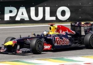 Гран-при Бразилии: Уэббер показал лучший результат на первой практике