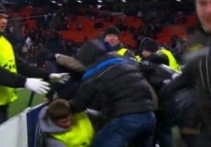Фаны Шахтера избили персонал на Донбасс Арене