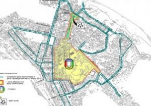 В дни проведения матчей Евро-2012 в Киеве намерены запретить движение частного автотранспорта по центру города