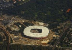 Стадион к Евро-2012 в Варшаве будут открывать два дня