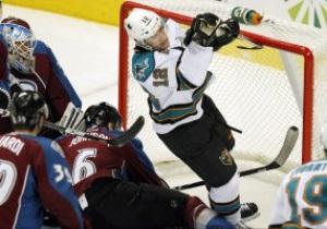 NHL: San Jose Sharks уверенно разбираются с Colorado Avalanche