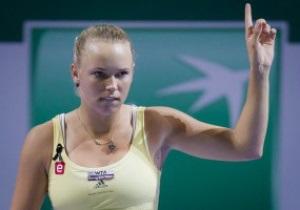 Датская теннисистка получила награду за популяризацию тенниса