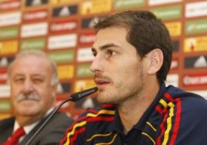 Касильяс установил новый рекорд сборной Испании