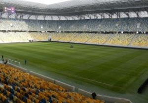 Фотогалерея: Готово. Арена Львов за день до матча Украина - Австрия