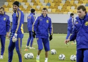 Фотогалерея: Это прайд. Тренировка сборной Украины на Арене Львов