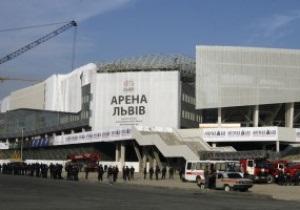 Арену Львов собираются освятить перед матчем с австрийцами
