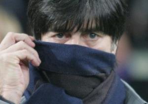 Тренер Германии: Мне было приятно играть против Украины
