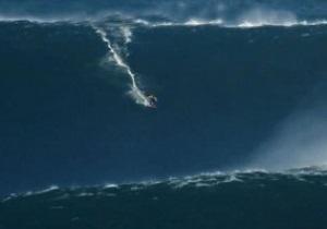 Серфер установил мировой рекорд, поймав 30-метровую волну