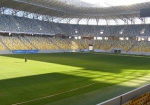 Фотогалерея: Финишная кривая. Арена Львов за неделю до матча Украина - Австрия