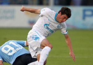 Задержанного в нетрезвом виде футболиста Зенита лишили водительских прав на полтора года