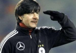 Наставник сборной Германии решил опробовать на украинцах ударную мощь подопечных