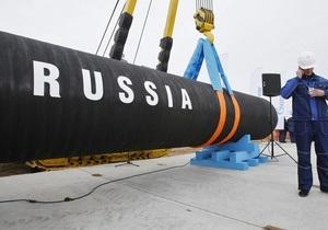 После запуска Северного потока Газпром рассчитывает занять 30% газового рынка Европы