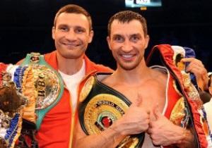 Братья Кличко признаны самыми сердечными спортсменами Германии