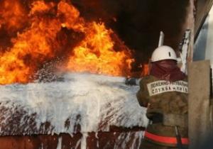 В Киеве сгорел любимый ресторан футболистов киевского Динамо
