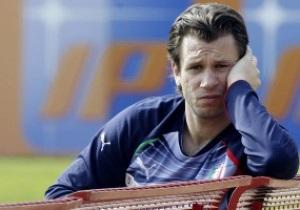 Лучший бомбардир сборной Италии рискует пропустить Евро-2012