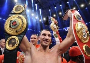 WBO признала Владимира Кличко лучшим боксером 2011 года