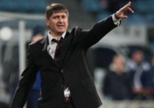 Оболонь отправила в отставку главного тренера