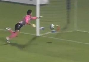 Гол японца головой со своей половины поля претендует на мировой рекорд