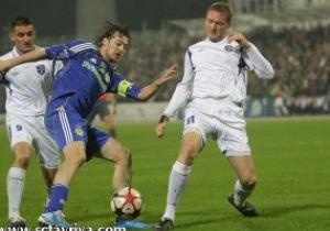 Два удаления, две травмы и два нуля: Динамо не смогло выиграть у Таврии