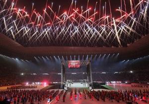 На открытии львовского стадиона освистали ролик о вкладе властей в строительство арены