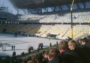 Арену Львов протестировали 2 500 студентов