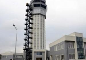 Евро-2012: В аэропорту Донецка достроена самая высокая в Украине аэродромная вышка