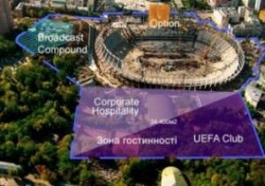 Зона гостеприимства НСК Олимпийский будет обустроена к марту 2012 года
